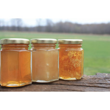 A Small Trio of Raw Honey