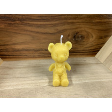 Little Bear Boy Beeswax Candle