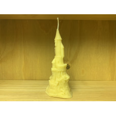 Fairytale Castle Beeswax Candle