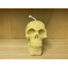 Celtic Warrior Skull Candle