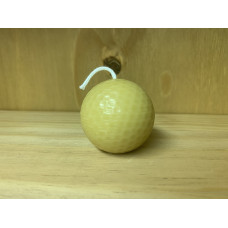 Golf Ball Beeswax Candle