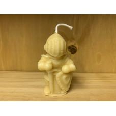 Kunibert The Little Knight Beeswax Candle