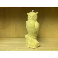 Archimedes The Owl Beeswax Candle