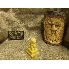 Little Chinese Dragon Beeswax Candle