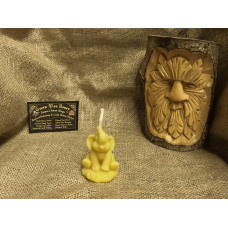 Little Elephant Beeswax Candle