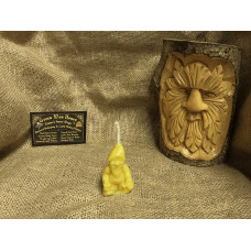 Steve - The Gnome Beeswax Candle