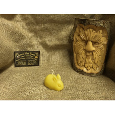 Little Bunny Beeswax Candle