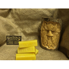 1 Bar of 100% Natural Beeswax