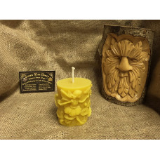 Oval Fairy Tale Beeswax Candle