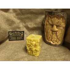 Square Fairy Tale Beeswax Candle