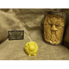 Wooly The Sheep Beeswax Candle