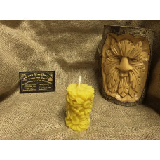 Little Sunflower Beeswax Candle
