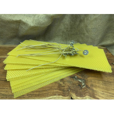 Hand Rolled Beeswax Candle DIY Set Large
