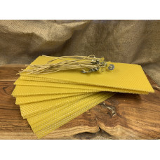 Hand Rolled Beeswax Candle DIY Set Extra Large