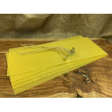 Hand Rolled Beeswax Candle DIY Set Small