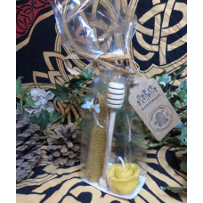 Small Rose Beeswax Candle Gift Set