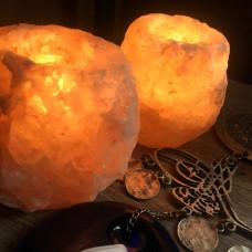 Himalayan Rock Salt Tea Light Holder