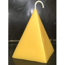 Pyramid Beeswax Candle