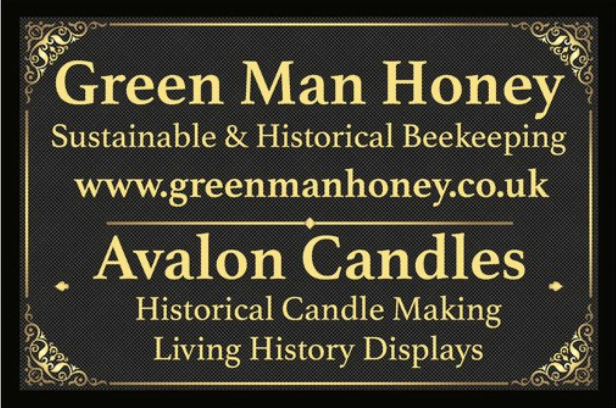 GreenManHoney - Shop